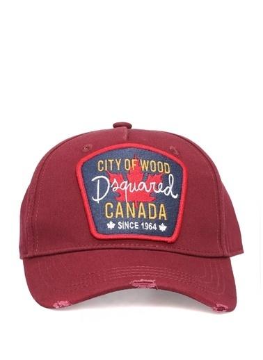 Dsquared2 Şapka Bordo